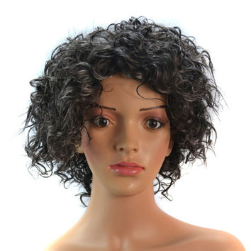Wig Hair Pack Extension Short Afro Cap