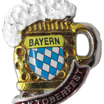 German Beer Mug Deluxe Collectible German Hat Pin
