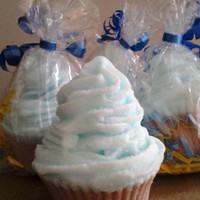 Soap Cupcake  Blue Soap Men's Soap  Cupcake soap Food Soap Gift For him  Gift Ideas- 4oz