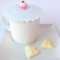 Yellow Beehive & Bees Sugar Cubes and Silicone Tea n' Coffee Cup Cover Gift Set • Brin d'Arômes