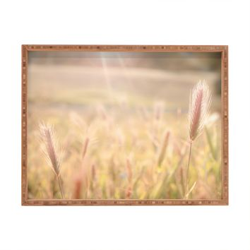 Bree Madden Wheat Fields Rectangular Tray