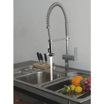 Westminster Single Lever Pull-Down Kitchen Faucet