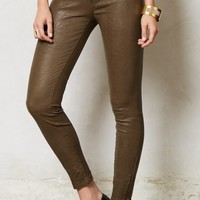 J Brand Super Skinny Leather Leggings