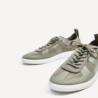 FABRIC SNEAKERS DETAILS