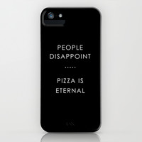 PIZZA iPhone & iPod Case by n a t a l i e