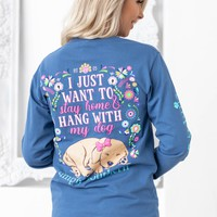 Hang with My Dog | Blue | Simply Southern