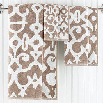 Natural/Ivory Nomad Towel Collection | Bathroom| Bed & Bath | World Market