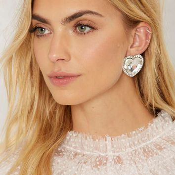 Take Heart Jeweled Earrings