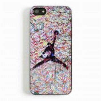 air jordan paint for iphone 5 and 5c case