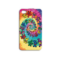 Hippie Grateful Dead iPhone Case iPhone 4 Case iPhone 5 Case iPhone 4s Case iPhone 5s Case iPod 4 Case iPod 4s Case Psychadelic Case Cover