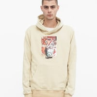 Amorist Eyes Hoodie in Cream