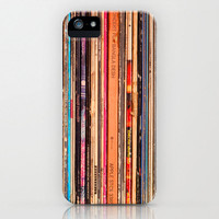 iPhone 5 Case, iPhone 5, vinyl records, case for iPhone 5, rock music, bomobob, vintage LP, iPhone accessory