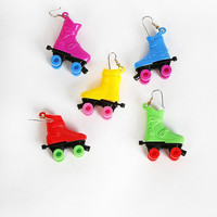 Reclaimed Vintage Roller Skate Earrings