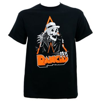SHIRT RANCID Punk Rock Band Skele-Tim Breakout T-Shirt Black S-3XL NEW Mens T Shirt Summer O Neck Cotton Punk Tops Tee Plus Size