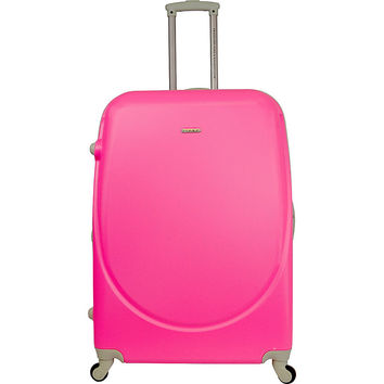 "Travelers Club Luggage Barnet 28"" Round Shell Expandable Spinner - eBags.com"