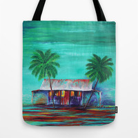 The Shack Tote Bag by Sophia Buddenhagen