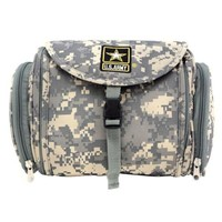 Official Licensed U.S. Army Digital Camo Toiletry Travel Bag - NWT