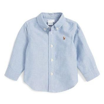 Ralph Lauren Oxford Shirt (Baby Boys) | Nordstrom
