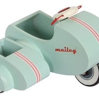 Scooter With Sidecar Toy, Light Blue, Children's Toys