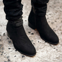 Urban Men New Fashion Zip Boots