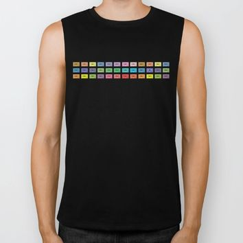 Wall of Sound Biker Tank by picturing juj