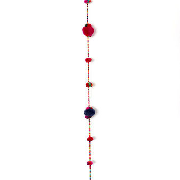 Home Decorations Pom Pom Hanging Mobile Accessories by HMONG Thailand (DE4115HG-D15)