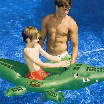 Swimming Pool Inflatable Croccodile - Inflatable