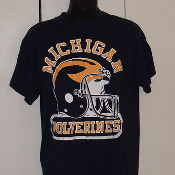 University of Michigan Athletics Sweatshirt Vintage 4NNfhDh0Rq