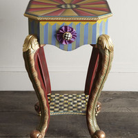 MacKenzie-Childs Epaulet Accent Table