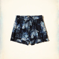 Girls Ruffle Hem Woven Shorts | Girls Bottoms | HollisterCo.com