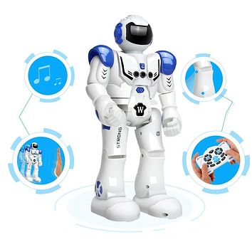 Robot USB Charging Dancing Gesture Action Figure Toy Robot Control RC Robot Toy