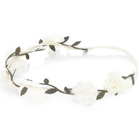 Flower Fairy Bando | Cream | Accessorize