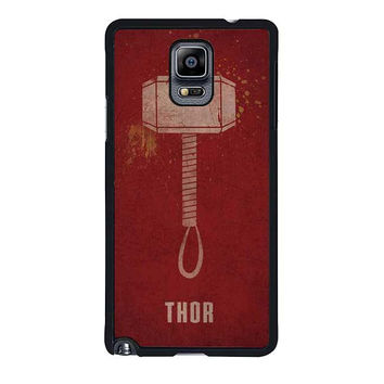 thor tunder hammer samsung galaxy note 4 note 3 cover cases