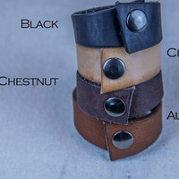The Simple Leather Bracelet | Handmade Leather Bracelets | Made in the U.S.A.