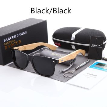 New Bamboo Polarized Sunglasses Men Polarized Wooden Sun glasses Women Brand Original Wood Glasses Oculos de sol masculino