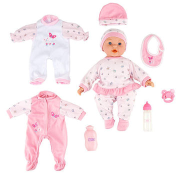 You & Me 14 inch Doll with Trunk and Accessories - Caucasian