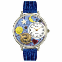 Pisces Watch in Silver (Large)