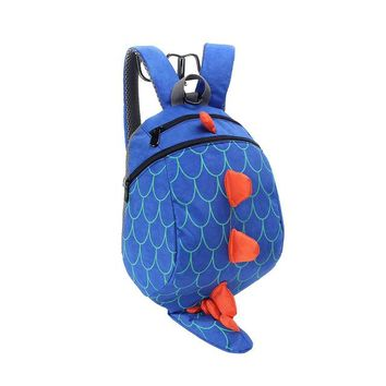 Toddler Backpack class Yesello 3D Cartoon Dinosaur Baby Toddler Anti lost Leash Harness Strap Walker Baby Lunch Box Bag Kindergarten Schoolbag Backpack AT_50_3
