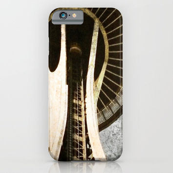 space needle iPhone & iPod Case by Jessica Ivy