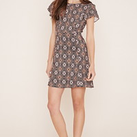 Contemporary Floral Mini Dress | Forever 21 - 2000168240