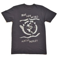 Brave New World book cover t-shirt