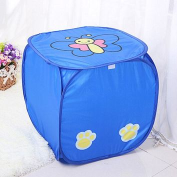 44*44cm New Creative Cartoon Animal Pattern Storage Box Large Laundry Basket Laundry Baby Toy Storage Basket