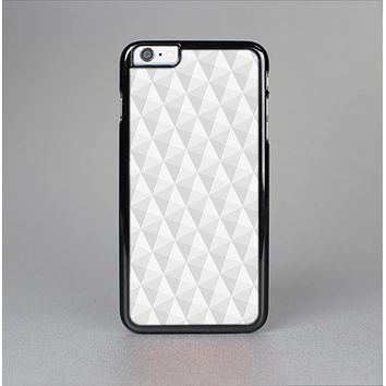 The White Studded Seamless Pattern Skin-Sert Case for the Apple iPhone 6