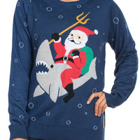 Women's Sea Sleigher Ugly Christmas Sweater