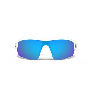 Under Armour Rival Sunglasses Satin White/ Blue