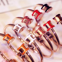 Hermes Fashion New Opening Women Men Personality Bracelet Accessories