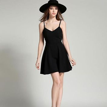 Angel Wings Casual Slim Sexy Dress