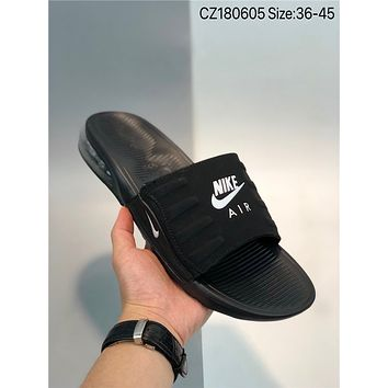 New Nike W Air Max 90 Slide cheap Men's and women's nike Slippers Beach shoes