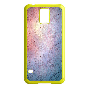 Swirling Flower Pattern Samsung Galaxy S5 Case