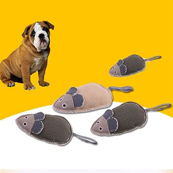 Mouse Pet Supply Dog Puppy Bite Resistant Interactive Toy for Teeth Training